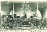 Zetagathian-Hesperian Hall in South Hall, the University of Iowa, 1890