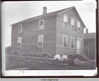 Puchert home in Homestead, Iowa