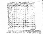 Iowa land survey map of t071n, r015w
