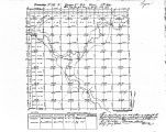 Iowa land survey map of t098n, r044w