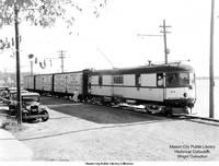 Mason City - Clear Lake RR train at Clear Lake