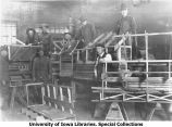 Cadets in Carpentry Department, The University of Iowa, 1918