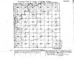 Iowa land survey map of t074n, r021w