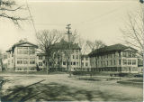 University Hospital later known as Seashore Hall, The University of Iowa, between 1908 and 1910