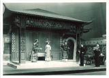 Actors onstage in The Caucasian chalk circle, The University of Iowa, April 1949