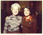 Mary Louise Smith with Bobbie Greene Kilberg at White House reception, Washington D.C., January 14, 1977