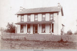 Daniel and Margaret Nelson Home, Mahaska County, Iowa, late 19th Century