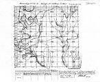 Iowa land survey map of t072n, r028w