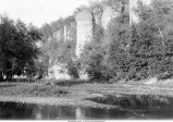 Oneota River near Bluffton, Iowa, late 1890s or early 1900s.