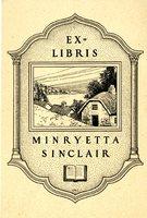 Minryetta Sinclair Bookplate
