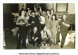 Students drinking beer, The University of Iowa, 1940s