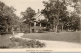 Country Club Blvd., Frank C. Waterbury Residence