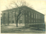 Trowbridge Hall under construction, The University of Iowa, 1916