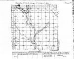 Iowa land survey map of t070n, r031w