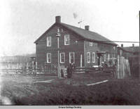 """Amana residence, """"Oehl house"""", Amana, Iowa, 1900s"""