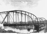 Park bridge, Iowa City, Iowa, 1915