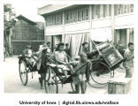 Rickshaws, China, 1944