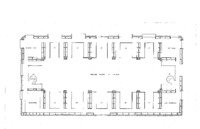 02. Blueprints of the State Law Library of Iowa- Second Floor