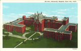 University of Iowa Hospitals and Clinics, the University of Iowa, circa 1930