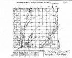 Iowa land survey map of t068n, r034w