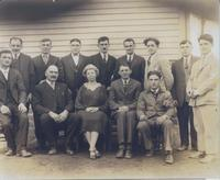 Adult Immigrant Students at Shuler Mine Camp school