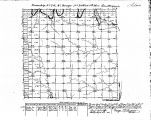 Iowa land survey map of t074n, r030w