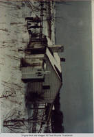 "The Bissell cottage, ""The Sink"", in winter"