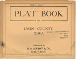 Plat book of Lyon County, Iowa