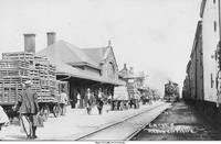 Chicago, Minneapolis and St. Paul Railroad depot