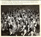 Farmers at Constitution Hall listening to address by Secretary of Agriculture Henry Wallace, Washington, D.C., May 14, 1935