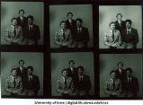 Tony McAndrews, Jim Rosborough and Butler, basketball coaches, The University of Iowa, September 1978