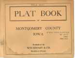 Plat book of Montgomery County, Iowa