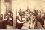 Old Main;Laboratory; Zoology Class; Penn College