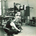 Electrical engineering equipment, The University of Iowa, 1930s
