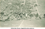 Iowa-Pittsburgh football game, The University of Iowa, October 3, 1931