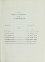 0139 Des Moines Women's Club Minutes 1974-1976
