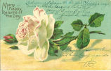 """""""Many happy returns of the day,"""" August 30, 1909"""