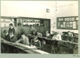 University High School art classroom, The University of Iowa, January 1928