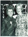 Mary Louise Smith posing with friend at the National Women's Republican Club, New York, N.Y., March 22, 1975