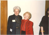 Mary Louise Smith with friend, ca. May 1990
