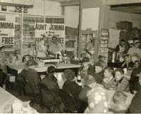 Aunt Jemima Day at E.J. Hesselschwerdt's General Store