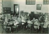 School children having party, The University of Iowa, January 1929