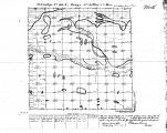 Iowa land survey map of t099n, r021w