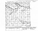 Iowa land survey map of t074n, r028w