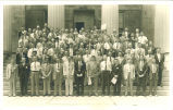Second Hydraulics Conference on the steps at Old Capitol, The University of Iowa, June 1942