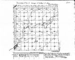 Iowa land survey map of t074n, r035w