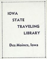 State Traveling Library of Iowa bookplate