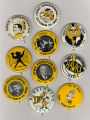 Homecoming badges, 1960s