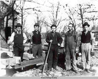 Carpenters and Myself Amana, Iowa, ca. 1900