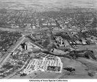 Barracks, University Hospital, Field House/Armory, The University of Iowa, Iowa City, Iowa, 1959